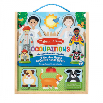 Occupations Magnetic Dress-Up Set