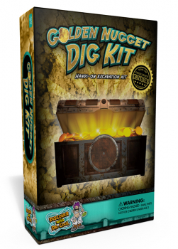 Golden Nugget Dig Kit (Excavation Kit)