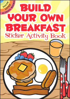 Build Your Own Breakfast Sticker Activity Book