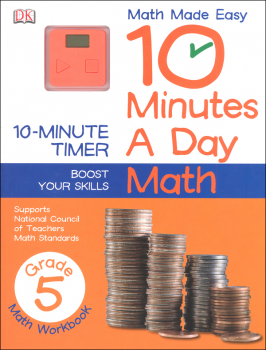 10 Minutes a Day: Math Fifth Grade