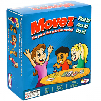 Movez - Game That Gets Kids Moving!