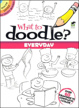 What to Doodle? Everyday Little Activity Book