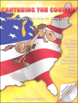 Cantering the Country Unit Study w/ CD-ROM