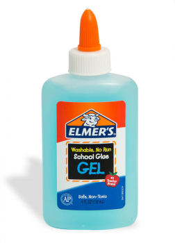 Elmer's No-Run Glue 4oz. Blue Gel
