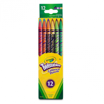 Crayola Twistable Colored Pencils - 12 count