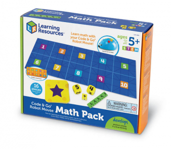 Code & Go Robot Mouse Math Pack
