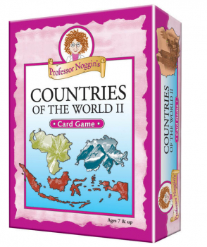 Prof Noggin's More Countries of World Card Game