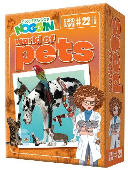 Prof Noggin's Pets Card Game