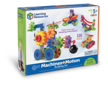 Gears! Gears! Gears! Machines in Motion