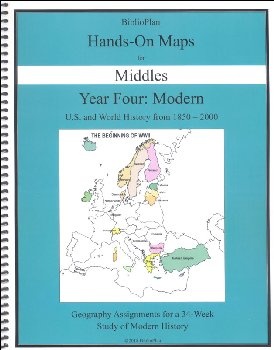 BP Modern History Hands-On Maps for Middle School