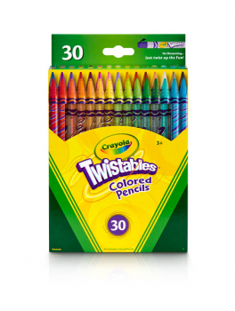 Crayola Twistable Colored Pencils - 30 count