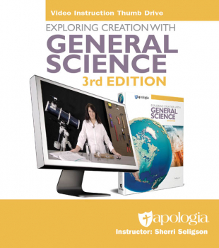 Exploring Creation with General Science Video Instruction Thumb Drive 3rd Edition
