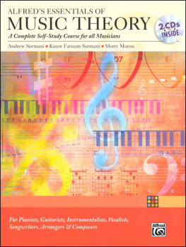 Essentials of Music Theory Self-Study Course w/ Answer Key & CD