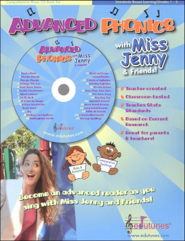 Advanced Phonics Book & CD