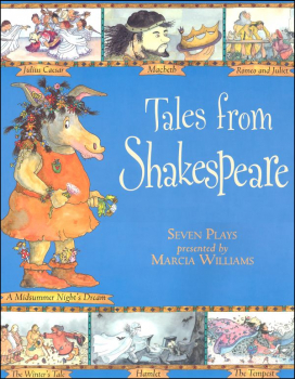 Tales from Shakespeare (7 plays in comic-strp