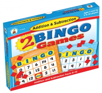 Addition and Subtraction Bingo Game