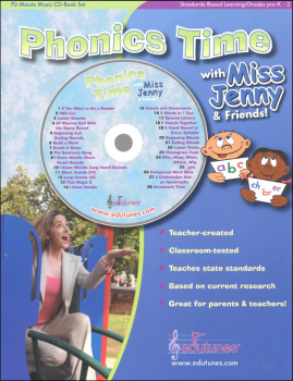Phonics Time Book & CD