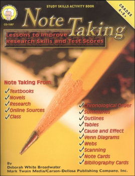 Note Taking: Lessons Improve Research Skills
