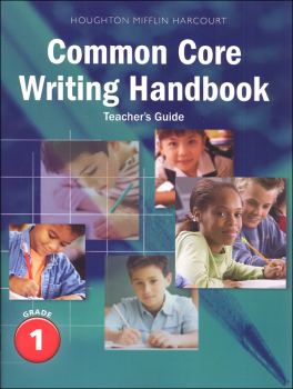 Writing Handbook Teacher's Guide Grade 1