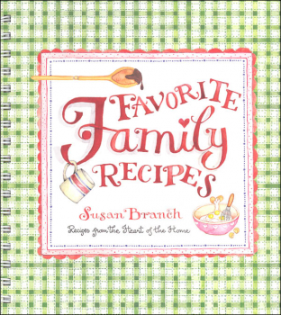 Favorite Family Recipes Blank Recipe Book