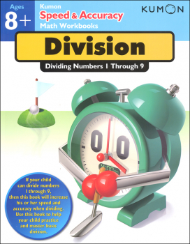 Kumon Speed & Accuracy Math Workbook - Division