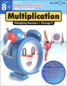Kumon Speed & Accuracy Math Workbook - Multiplication