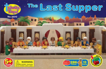 Last Supper Construction Block Set