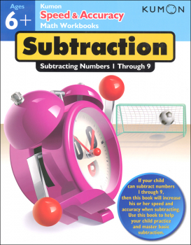 Kumon Speed & Accuracy Math Workbook - Subtraction