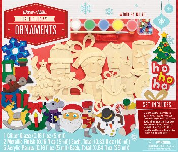 Holiday Ornaments 12 Pack