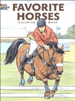 Favorite Horses Coloring Book