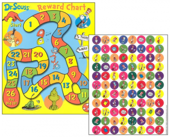 Dr. Seuss Mini Reward Game Charts