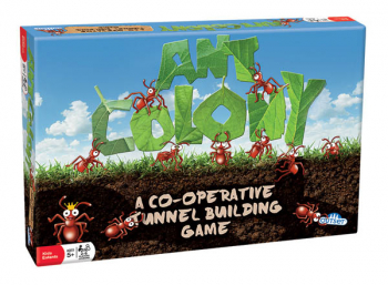 Ant Colony Co-Operative Tunnel Building Game