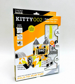 Cat Paper Building Blocks (Classic Kit)