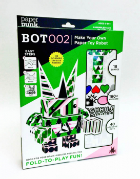 Robot Paper Building Blocks (Classic Kit)