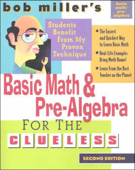 Bob Miller's Basic Math & Pre-Algebra for the
