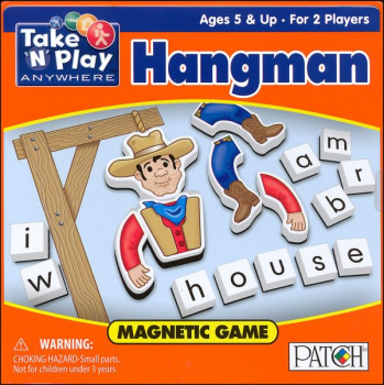Magnetic Hangman Game Tin