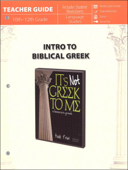 Introduction to Biblical Greek Teacher Guide