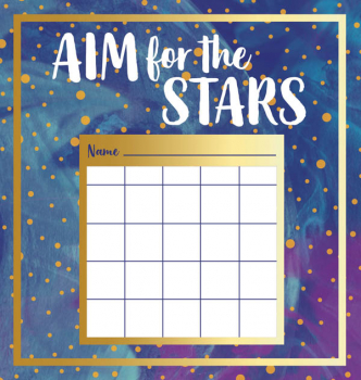 Galaxy Mini Incentive Charts with Stickers