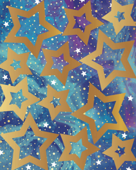 Galaxy Shape Stickers