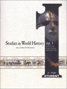 Studies in World History Volume 1 - Student
