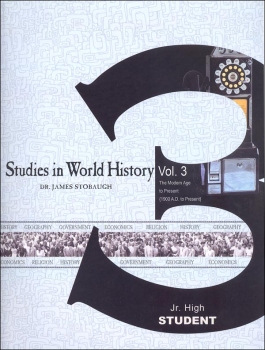 Studies in World History Volume 3 - Student