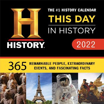 This Day in History Boxed Calendar 2021