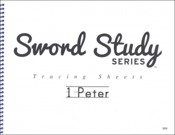 1 Peter Sword Study Tracing Sheet - English Standard Version