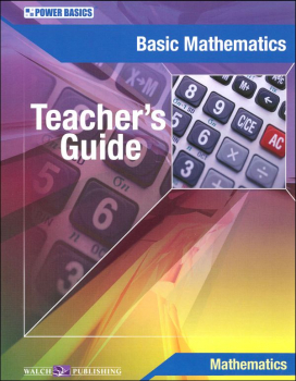 Basic Math Teacher's Guide (Power Basics)