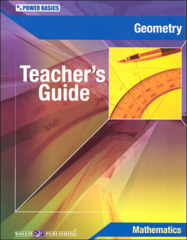 Geometry Teacher's Guide (Power Basics)