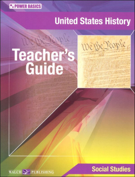 U.S. History Teacher's Guide (Power Basics)