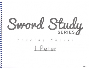 1 Peter Sword Study Tracing Sheet - New King James Version