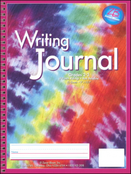 Writing Journal - Classic Tie-Dye- Grades 2-3