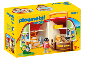 My Take Along Barn (Playmobil 1-2-3)