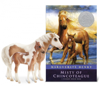 Breyer Classics Misty of Chincoteague & Her Foal Stormy - Model & Book Set